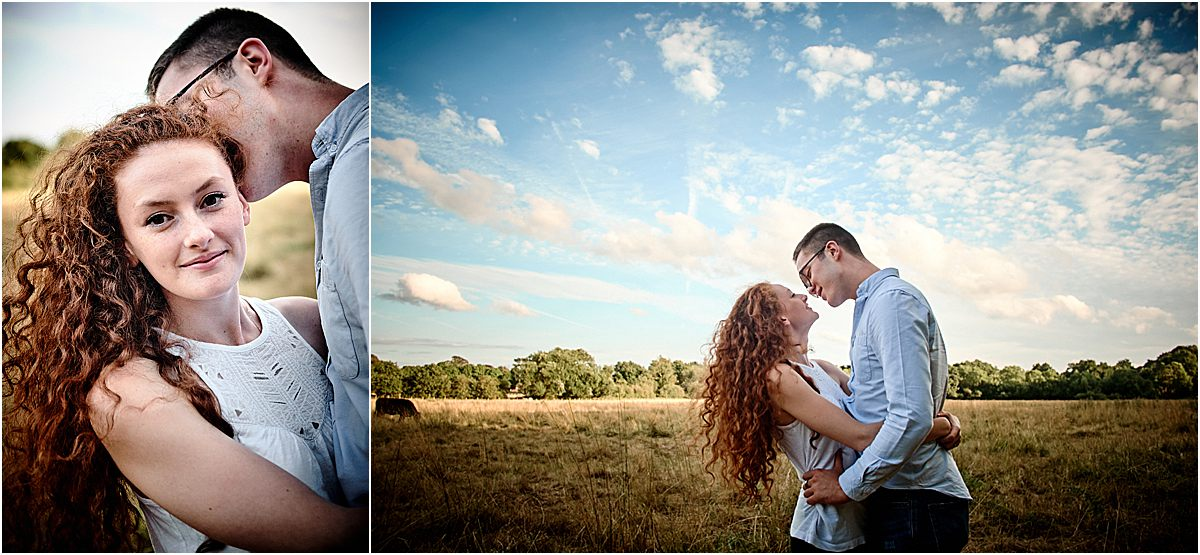 Pre-Wedding engagement session photographer in Surrey