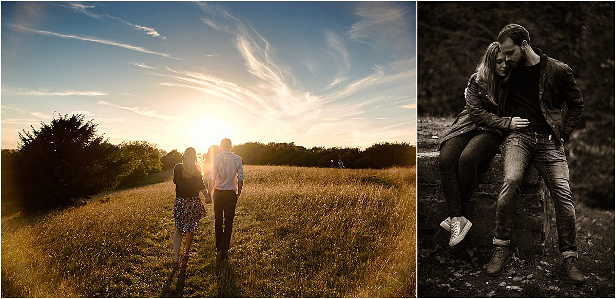 Pre-Wedding engagement photographer in Surrey