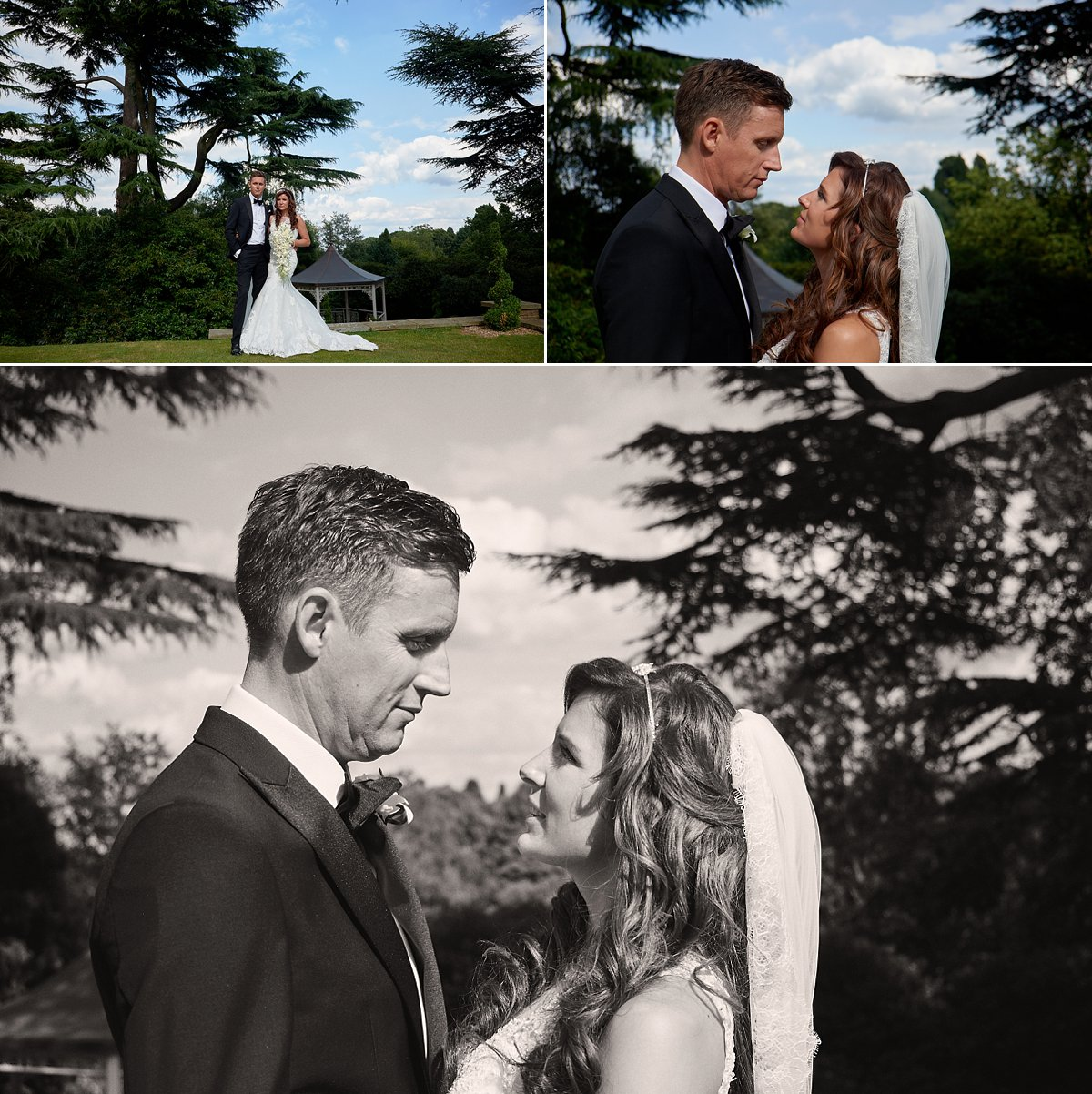 Bride and Groom portraits pennyhill Park Wedding Photographer Jason Leaman Photography