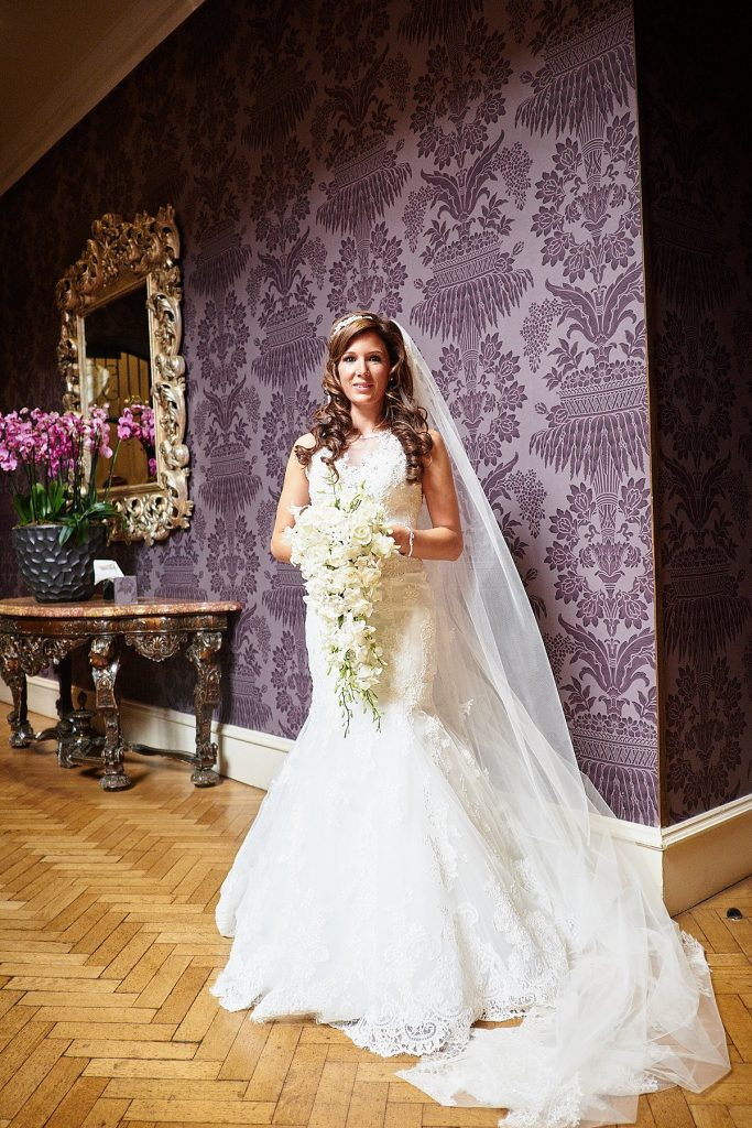 pennyhill Park Wedding Photographer Jason Leaman Photography Bride portrait